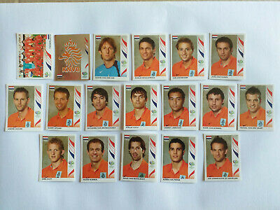 Panini Wc Coupe Du Monde 2006 18 Images Equipe Complete Set Team Hollande