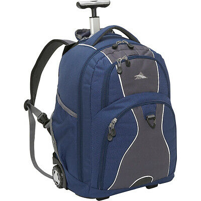 High Sierra Freewheel Rolling Backpack 8 Colors