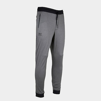Under Armour Mens Sportstyle Tricot Training Sports Pants Trousers Bottoms Grey