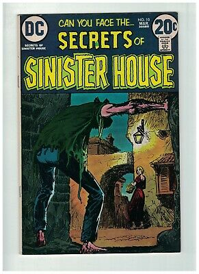 SECRETS OF SINISTER HOUSE 10 FINE March 1973