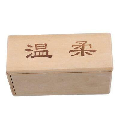 Mini 3D Brain Teaser Wooden Magic Unlocking Jewelery Box Puzzle Toy Game Gift Y