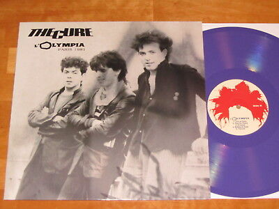 The Cure ''l'olympia Paris 1981'' - Live - Purple Vinyl - Lp