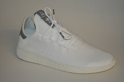 520c6660c5380 ADIDAS PW PHARELL Williams PW Tennis HU B41793 White Core Weiß Grau ...