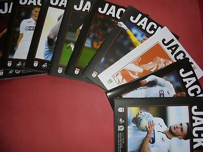 2018/19 Swansea Home Programmes Choose From