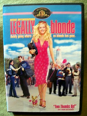 Legally Blonde (DVD, 2001, Widescreen, Full Screen) Reese Witherspoon