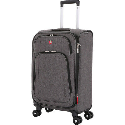 "SwissGear Travel Gear 7738 28"" Expandable Spinner Softside Checked NEW"