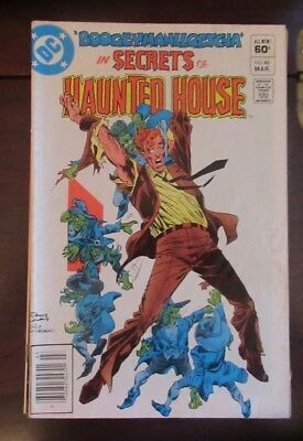 DC Comics  Secrets Of Haunted House #46   Fine
