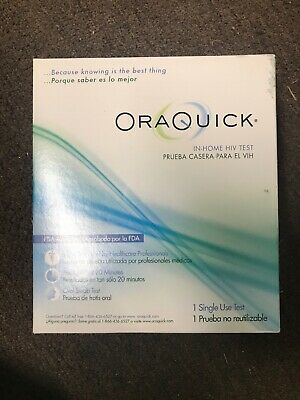 OraQuick In-Home HIV Test 1 Single Use Test