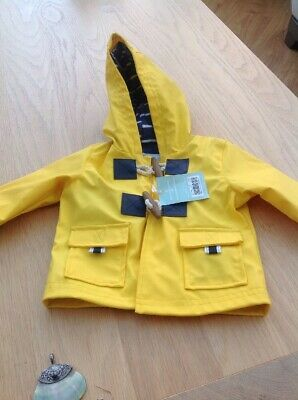 Mini Club Baby Yellow Hooded Jacket 3-6 Months