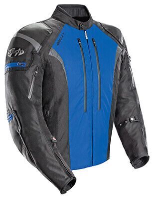 Joe Rocket Atomic 5.0 Motorcycle Jacket / Black/Blue - Small