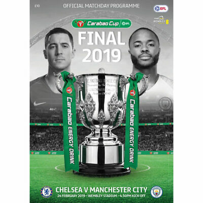 2019 CARABAO CUP FINAL PROGRAMME - CHELSEA v MAN CITY (24th February 2019)