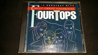 Compact Command Performances By The Four Tops Cd Motown Music Album Songs Tracks