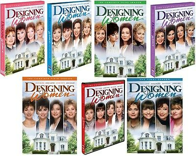DESIGNING WOMEN Complete TV Series Season 1-7 DVD Bundle Set BRAND NEW Free Ship