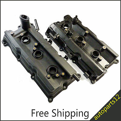 For Nissan 350Z Front Left Right Engine Valve Covers Spark Plug Seals & Gaskets