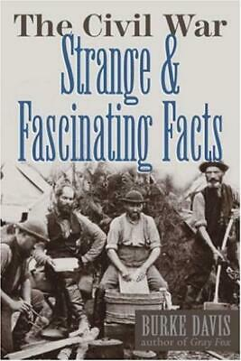 Wings Historical Book Civil War, The - Strange and Fascinating Facts HC NM