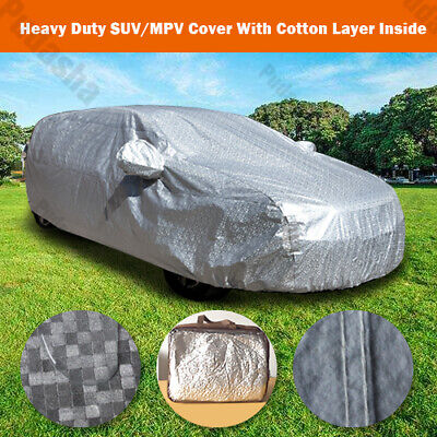 100% Waterproof 10 Layer SUV Car Cover Crossover Off Road Minivan Storage BHSUV