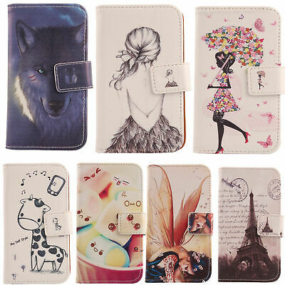 For Elephone Smartphone - PU Leather Lovely Flip Book Wallet Case Skin Cover New