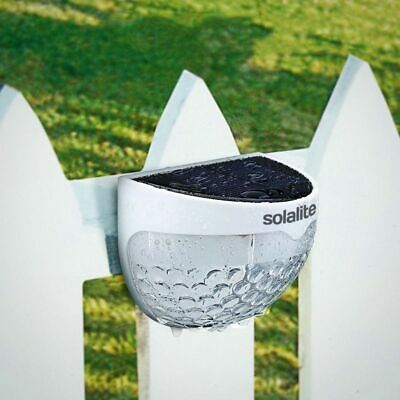 6 LED Outdoor Waterproof Solar Powered Wireless Fence Lights for Garden Patio