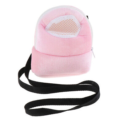 Small Pet Hamster Portable Carrier Outgoing Bag with Single Shoulder Strap