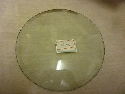 Original 1930 Type Grandfather Clock Or Wall Clock 10in Diameter Convex Glass
