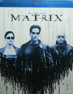 The Wachowski Brothers' The MATRIX(1999) Blu-ray Keanu Reeves Laurence Fishburne