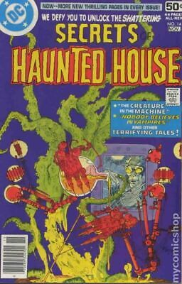 Secrets of Haunted House #14 1978 VG+ 4.5 Stock Image Low Grade