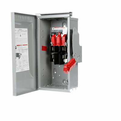 Siemens Hf364 Heavy Duty Safety Switch 200 Amp 600 Volt Fused