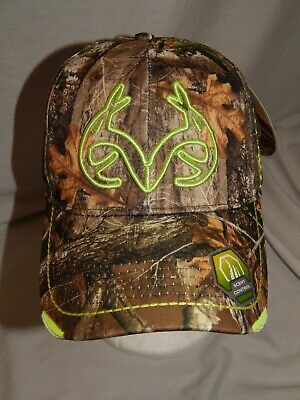 5802e9a2fa5 NEW Realtree Edge Hat Stretch Fit Slouch Scent Control Cap Camo Hunting  Mens S M