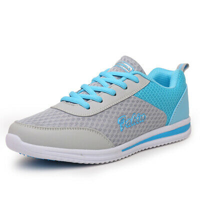 Women Sneakers Shoes Workout Breathable Lace Up Tennis Ladies Casual Trainner