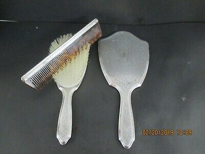 Tiffany & Co Sterling Silver Vanity Set - Hair Brush, Comb And Hand Mirror