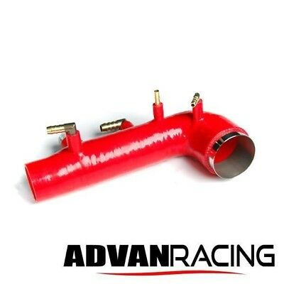 Rev9 Turbo Induction Hose, Silicone(Red), Subaru Impreza WRX 02-07/STI 04-14