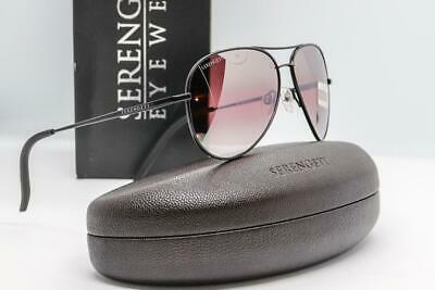 bc15d21b2031 SERENGETI CARRARA SMALL SUNGLASSES Satin Black / Sedona Mirror Polarized  8556