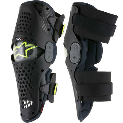 Alpinestars Sx1 Knee Guards - Black Anthracite