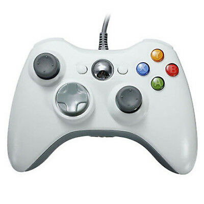 Wired 360 USB remote game controller gamepad for PC Windows box EC