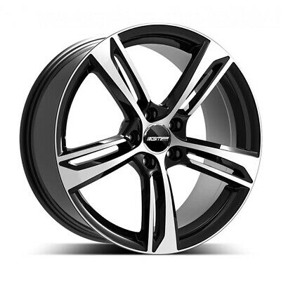 Audi Rs5 Alloy Wheel Centre Cap Stickers Domed Resin 55mm X4
