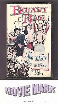 BOTANY BAY 1953 (Kartes Video Communications) Alan Ladd James Mason vhs RARE OOP