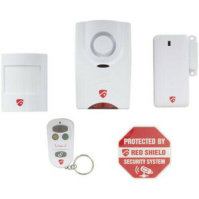 Mini Wireless Easy Installation Alarm Kit with Siren, Motion Detector and Remote