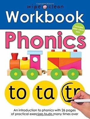 Phonics (Wipe Clean Workbooks), New Books