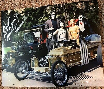 Pat Priest Marilyn Munster The Munsters Autographed 8X10 Photo #6