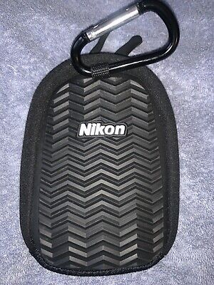 Nikon CoolPix AW Digital Camera Carrying Case Carabiner Rugged Padded Protection