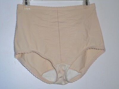 "Vintage PLAYTEX ""I CAN'T BELIEVE IT'S A GIRDLE"" Panty Girdle XL Cream Color"