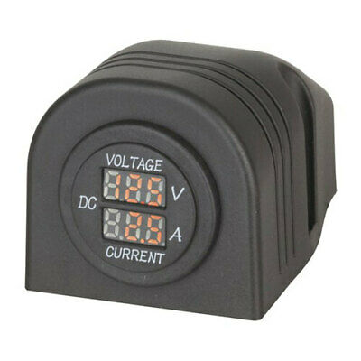 TechBrands Panel/Surface Mount LED Voltmeter and Ampmeter FREE Global Shipping