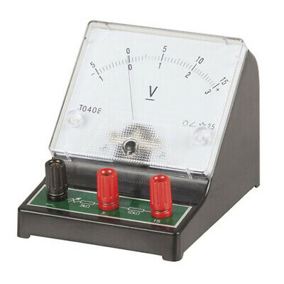TechBrands Analogue Bench Voltmeter 0-15V FREE Global Shipping