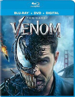 BLU-RAY Venom (Blu-Ray/DVD) NEW Tom Hardy
