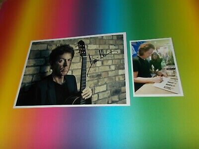 Dominic Miller Jazz Guitar Sting signed autograph Autogramm 8x11 inch foto in p.