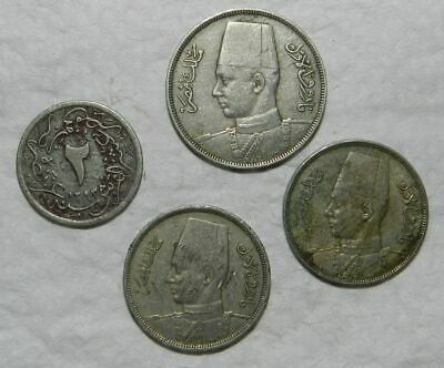 Egypt - Lot Of 4 Old Coins