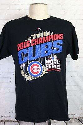 3ea7a0b025 CHICAGO CUBS NIKE MLB 2016 World Series Champions Men s T-Shirt ...