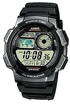 Orologio da polso Casio digitale al quarzo quartz nuovo originale AE-1000W-1B IT