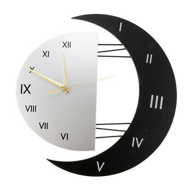 """10/"""" SILVER SWEEP RADIO CONT WALL CLOCK CLASSIC DESIGN OFFICE HOME STYLISH CLOCK"""