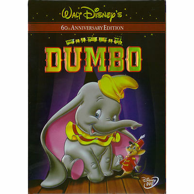 Disney's Dumbo - 60th Anniversary Edition (DVD, 2001) New! Free Shipping!